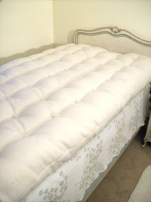 WOOL MATTRESS   Twin Full Double Queen King And California King   Hand Made