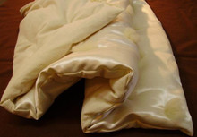 Baby Comforter with Hemp-silk Charmeuse Duvet Cover