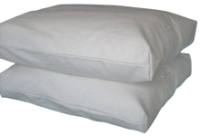 TRAVEL PILLOW  Toddler Eco Wool Pillow with Free Hemp-Organic Cotton Pillowcase new natural made in USA