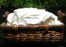 Organic Hemp and Cotton Blend Muslin Fabric Scraps, 3 Lbs.