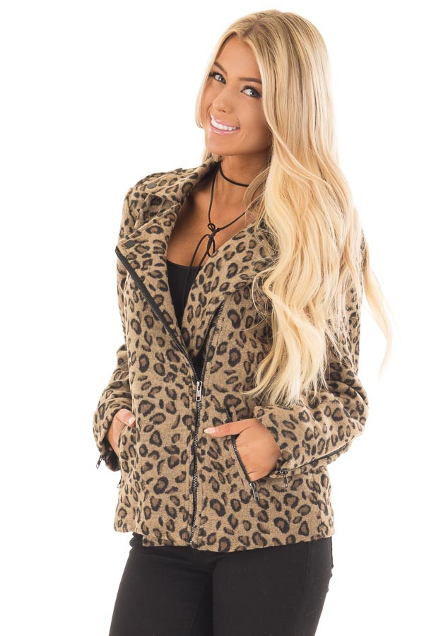 Leopard Print Jacket for Women