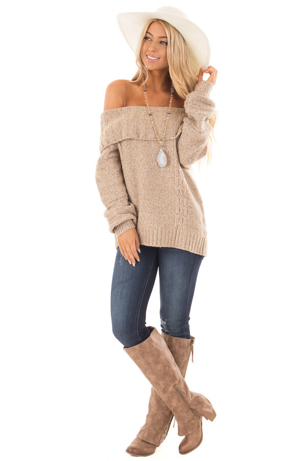 Over Shoulder Sweater