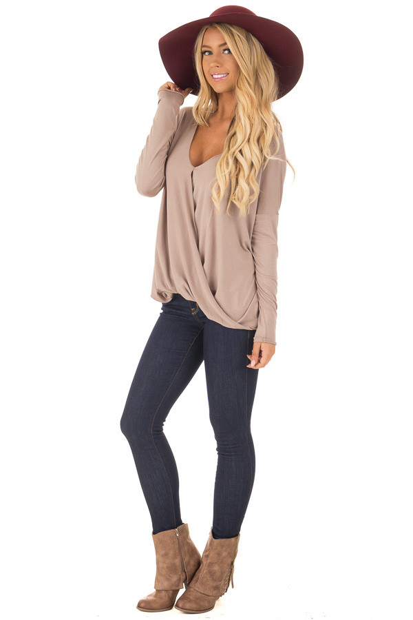 Dark Wash Skinny Jeans front full body