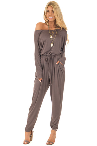 Coco Jumpsuit with Back Details front full body