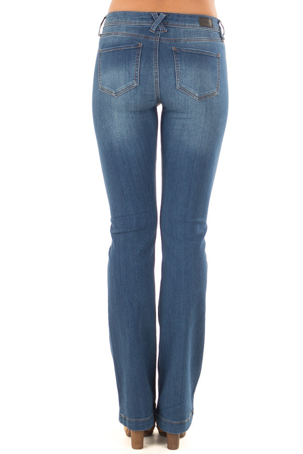 Medium Wash Kick Boot Jeans back