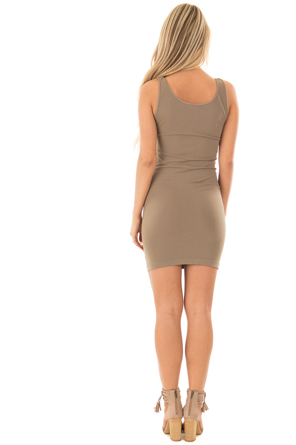 Ivy Seamless Tank Dress Undergarment back full body
