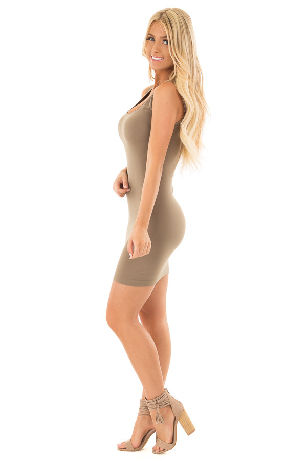 Ivy Seamless Tank Dress Undergarment side full body