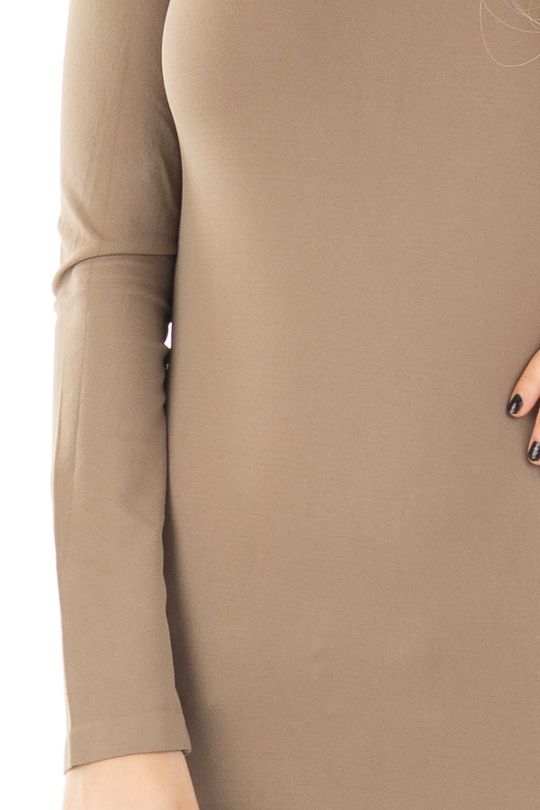 Ivy Seamless Long Sleeve Top detail