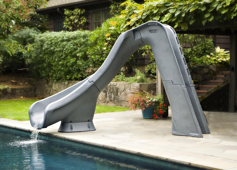Typhoon Swimming Pool Slide - Poolkits.com