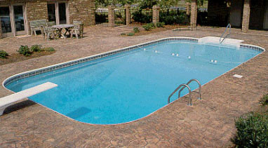 Rectangle In Ground Swimming Pool Poolkits Com