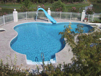Lagoon In Ground Swimming Pool Poolkits Com