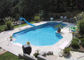 Grecian True L In Ground Swimming Pool