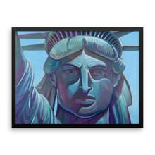 America1 - Framed poster