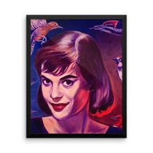 Natalie Woodpecker - Framed poster