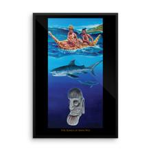 Ocean Series: The Kings of Rapa Nui - Framed poster