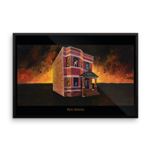 Red House - Framed poster