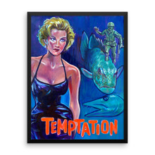 Temptation - Framed poster