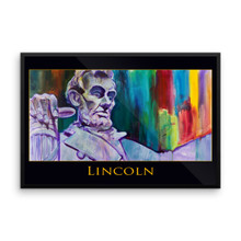 Abraham Lincoln - Framed poster