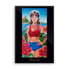 Dream Girl: Mary Ann - Framed poster