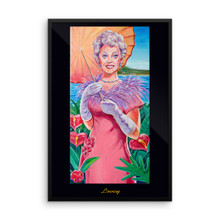Dream Girl: Lovey - Framed poster
