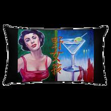 Bad Girl - Rectangular Pillow