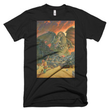 The Golden Arrow - Short sleeve men's t-shirt