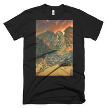 The Golden Arrow - Short sleeve men's t-shirt