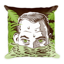 The Gator - Square Pillow