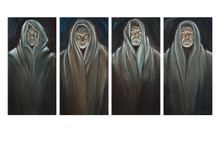 The Watchers (Four Painting Set)