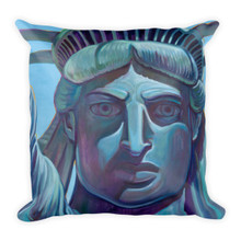 America1 - Square Pillow