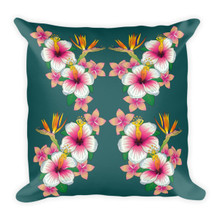 Flower Girls - Square Pillow