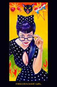 Firecracker Girl - Poster