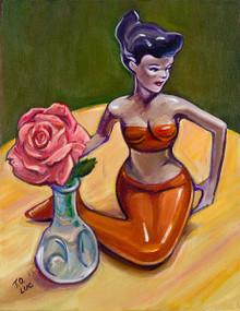Mermaid Series: Geraldine's Mermaid - Poster