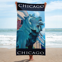 Chicago Series: Lion on the Prowl - Towel