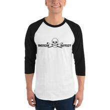 American Artist - 3/4 sleeve raglan shirt