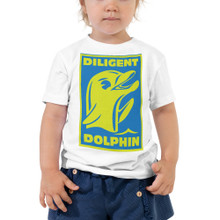 Diligent Dolphin - Toddler Short Sleeve Tee