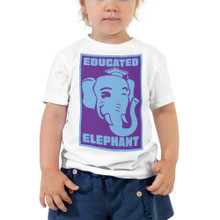 Educated Elephant - Toddler Short Sleeve Tee