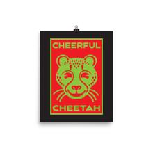 Cheerful Cheetah - Poster