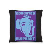 Educated Elephant - Basic Pillow