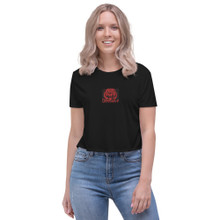 Counterpoint Red Tiger - Crop Tee
