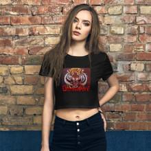 Counterpoint Tiger - Women's Crop Tee