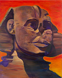 The Silent Sphinx Original Painting