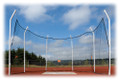 Cantabrian Cantilevered Aluminum Discus Cage 6 Pole
