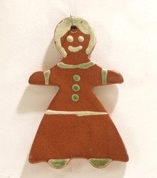 Gingerbread Woman Ornament