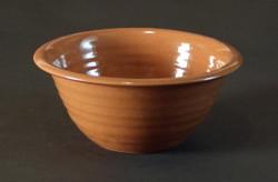 #617Redware Bowl
