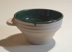 #652 Handled Porringer