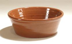 #474a Redware Pan