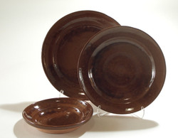 #426 c Large Moravian Plate