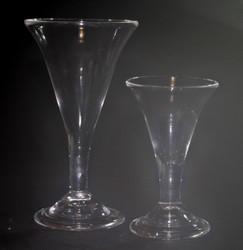 g164b  Large Trumpet Glass