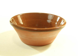 #775 Plain Redware Bowl